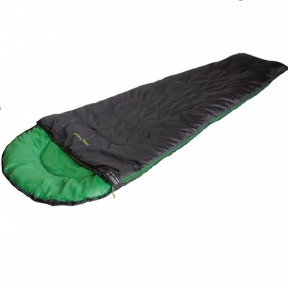Спальный мешок High Peak Easy Travel / +5 °C black/green