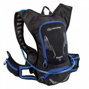 Рюкзак спортивный Highlander Raptor Hydration Pack 10 black/blue (924216)