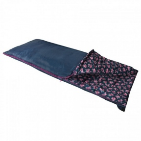 Спальный мешок Highlander Sleepline 250 / +5 °C left, floral blue (925865)